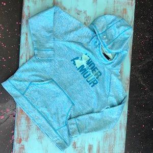 Under Armour  youth xl Sweatshirt hoodie blue